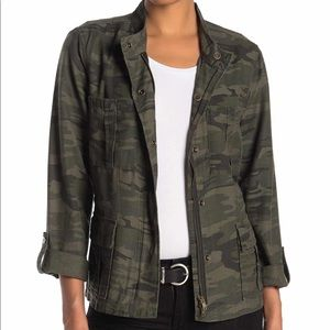 Sanctuary | Women's Military Camo Utility Jacket